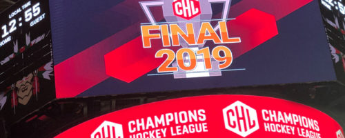 Digital Communications at the CHL Final